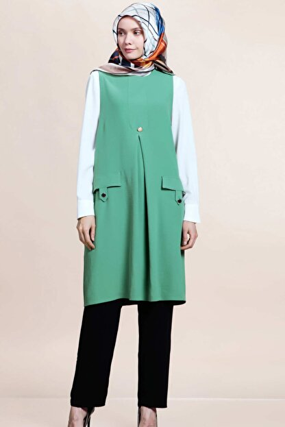 SELAM Kadın Yeşil Tunik Takım