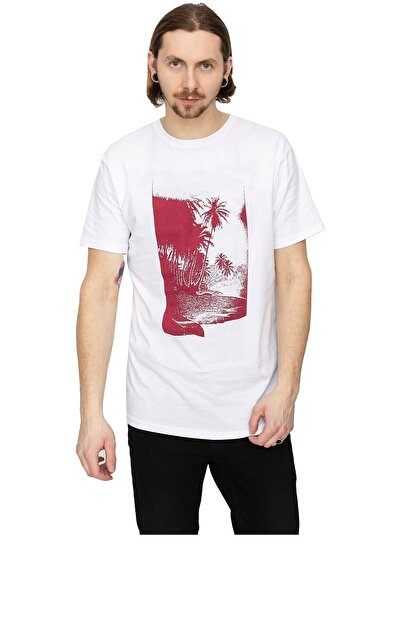 Quiksilver Erkek Beyaz Dreamer Lounge T-shirt Eqmzt03207-wbb0