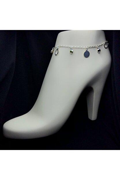 Midyat Gümüş Kenti Kadın 925 Ayar Yaz Modeli Gümüş  Halhal