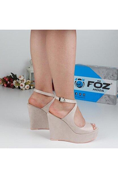 Föz Bej Kadın Dolgu Topuklu Ayakkabı OZ00667
