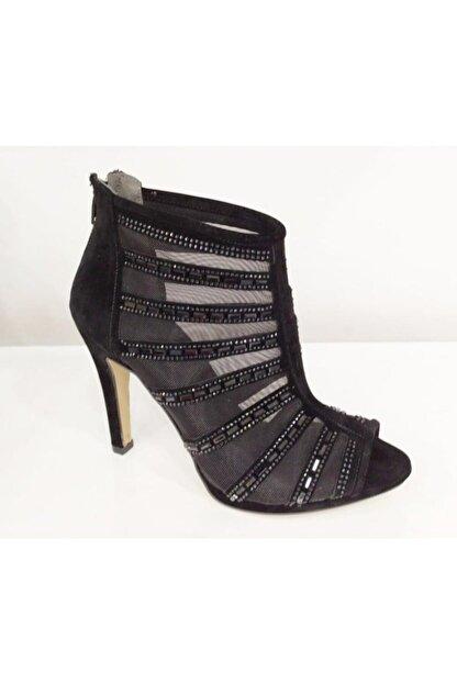 PUNTO Kadın Siyah Ince Topuklu Ayakkabı 655113z