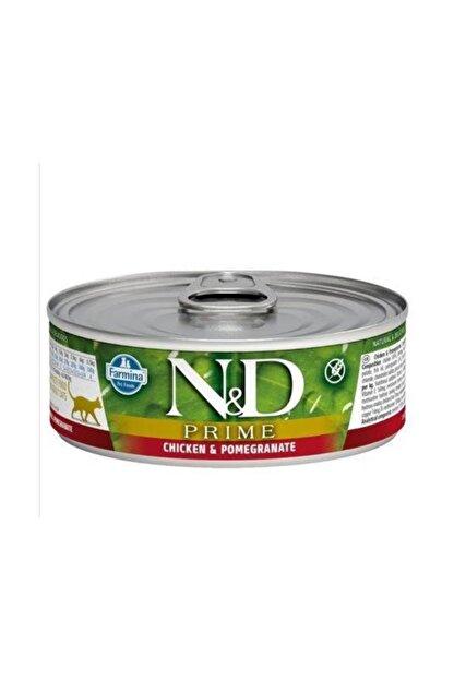 ND Tahılsız Tavuk & Nar Kitten Kedi Konservesi 80 gr