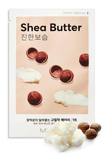 Missha Shea Yağı Besleyici ve Yoğun Nemlendirici Yaprak Maske (1ad) Airy Fit Sheet Mask Shea Butter