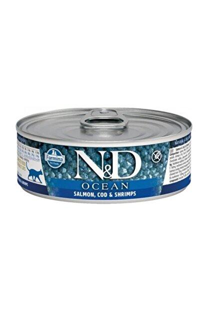 ND Ocean M.Balığı & Karides &Balkabağı Yavru Kedi 80 Gr