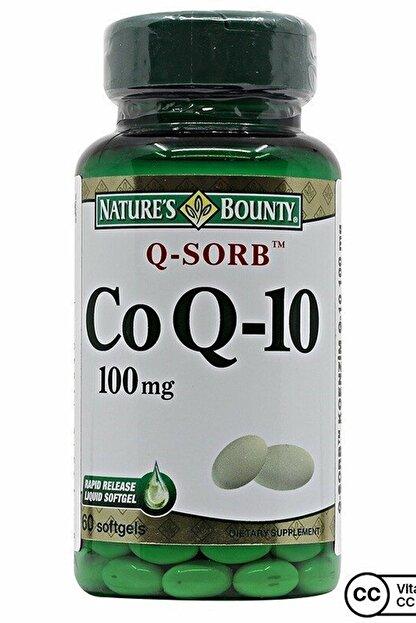 Natures Bounty Coq-10 (Q-Sorb) 100 Mg 60 Kapsül
