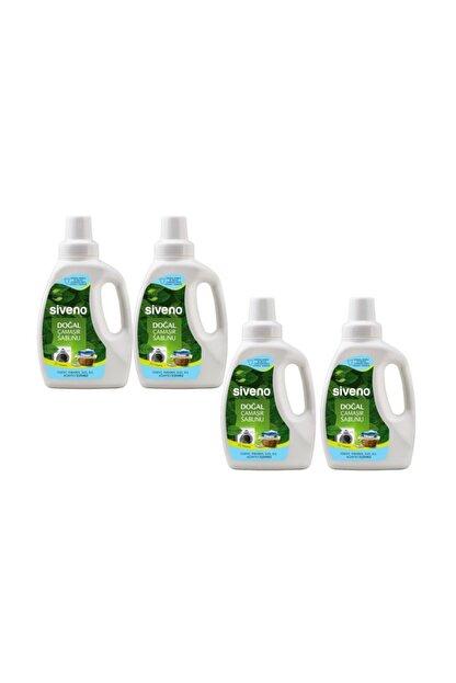Siveno %100 Doğal 4'lü Çamaşır Sabunu Seti 750 ml