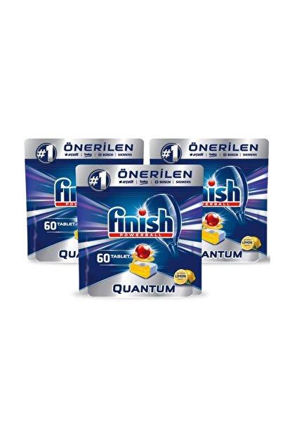 Finish Quantum 180 Tablet Bulaşık Makinesi Deterjanı Limon (60x3)