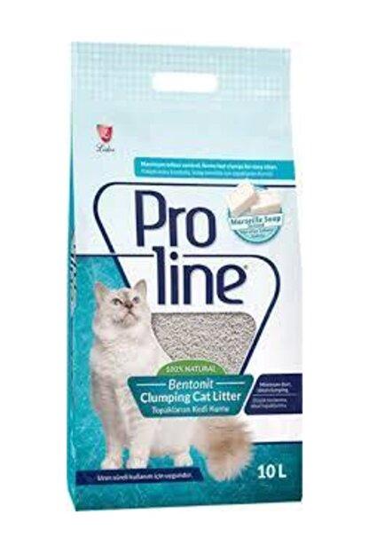 Pro Line Proline Topaklanan Kedi Kumu Sabun Kokulu 10 Lt