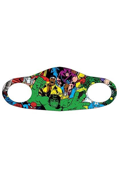 Noon Collection Noon NN7032 Çocuk Baskılı Maske