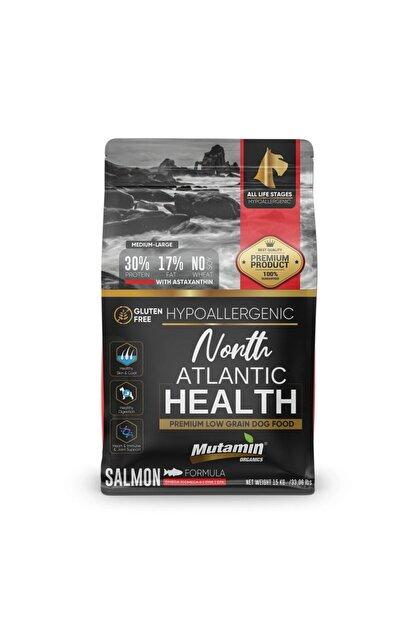 Mutamin Organics Mutamin North Atlantic Health Somonlu Köpek Maması 15 kg MEDIUM/LARGE