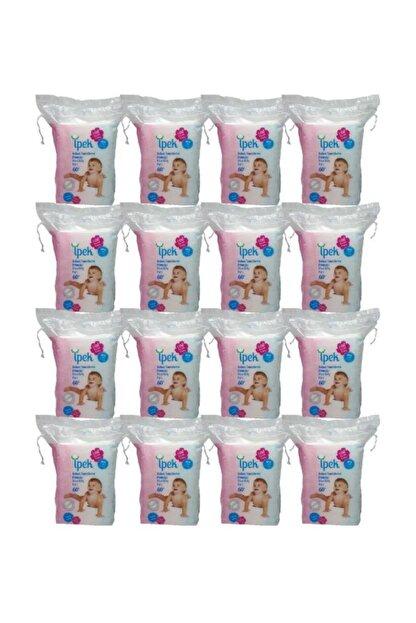 İpek Maxi Bebek Temizleme Pamuğu 60'lı x 16'lı Paket