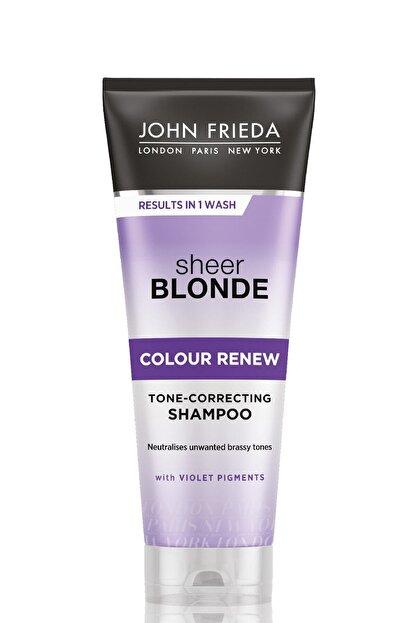 John Frieda Turunculaşma Karşıtı Mor Şampuan - Sheer Blonde Color Renew Conditioner 250 ml 5037156227376
