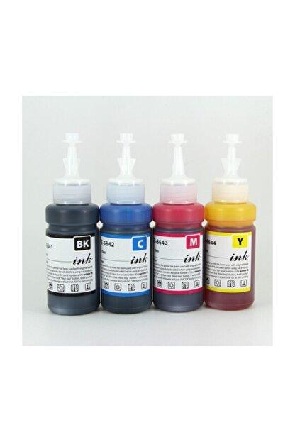 Epson Premium® Epson Epson L565 Uyumlu 4 Renk Kaliteli Mürekkep Seti