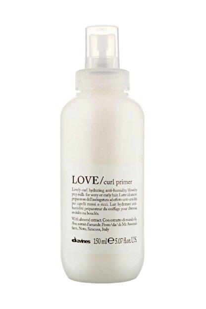 Davines Love Curl Primer Kıvırcık , Dalgalı Saçlar İçin Süt 150 ml