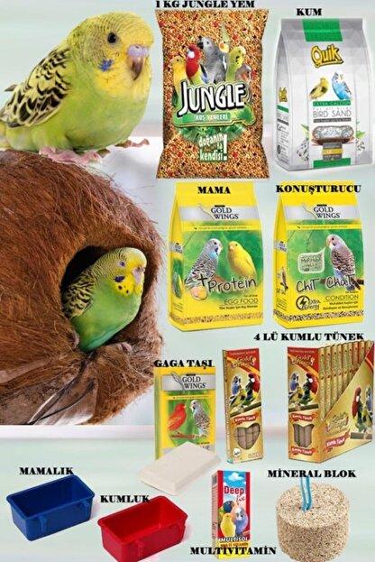 Enzoo Jungle Muhabbet Kuşu Yem Vitamin Seti