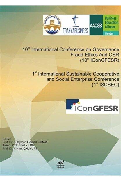 Paradigma Akademi Yayınları 1st International Sustainable Cooperative And Social Enterprise Conference (1st Iscsec) & 10th In...