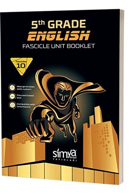 Simya Yayınları 5.sınıf Ingilizce Konu Özetli Soru Fasikülü (10 A