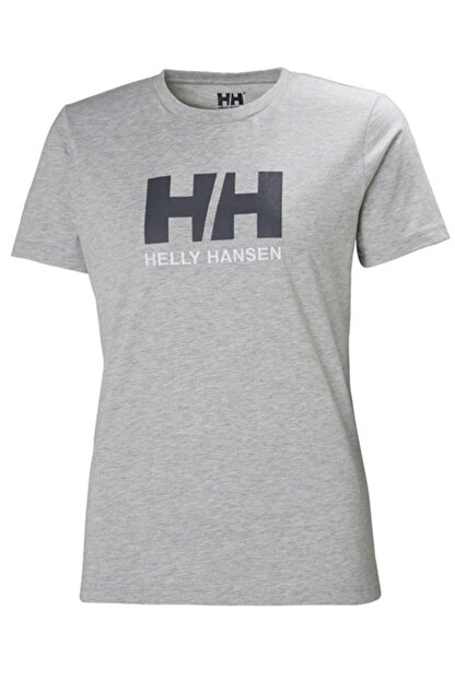 Helly Hansen Kadın Gri T-Shirt