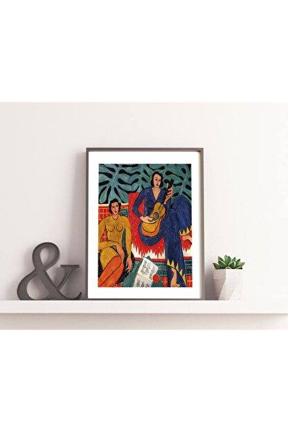Vona Vintage Henri Matisse Music Art Poster