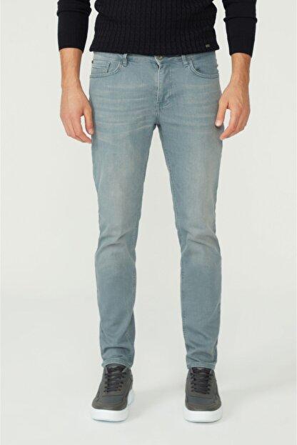 Avva Erkek Gri Skinny Fit Jean Pantolon A02y3501