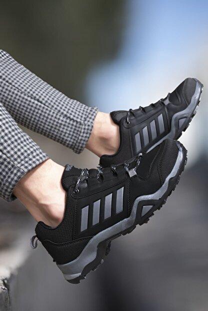 Riccon Siyah Füme Erkek Trekking Ayakkabı 0012189