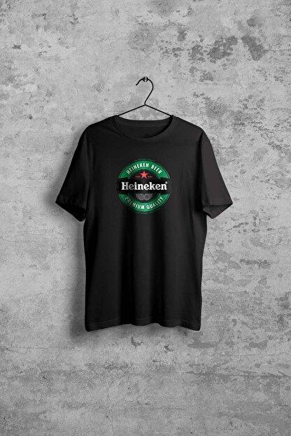 Comoestas Heineken Erkek Siyah Tshirt