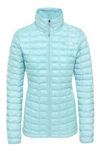 The North Face W Eco Thermoball Kadın Mont Mavi
