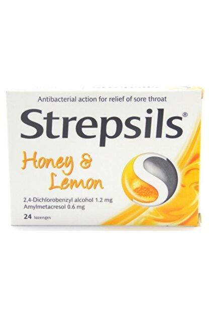 Strepsils Honey & Lemon 24 Pastil | Bal Ve Limon Aromalı