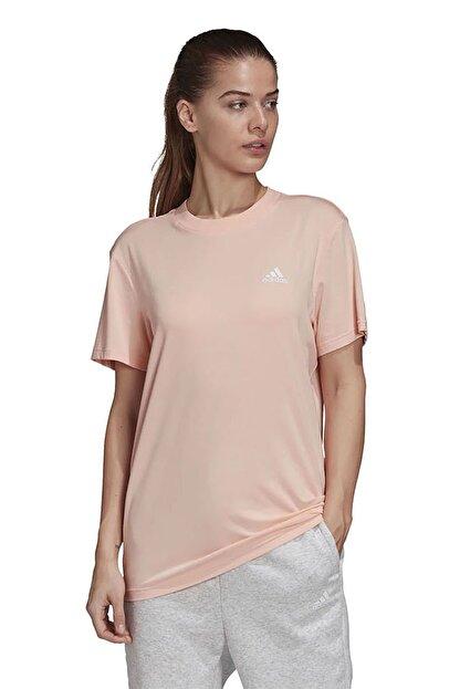 adidas W MH 3S SS TEE Somon Kadın T-Shirt 101118192