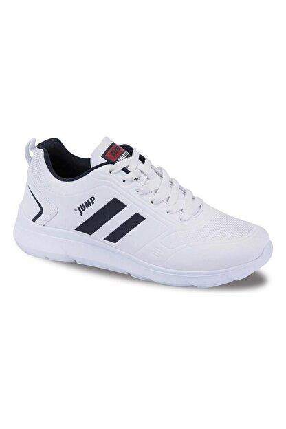 Jump Erkek Beyaz Confort Casual  Günlük Spor Ayakkabısı
