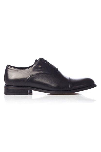 MARCOMEN Siyah Hakiki Deri Bağcıklı Erkek Klasik Ayakkabı • A19eymcm0022