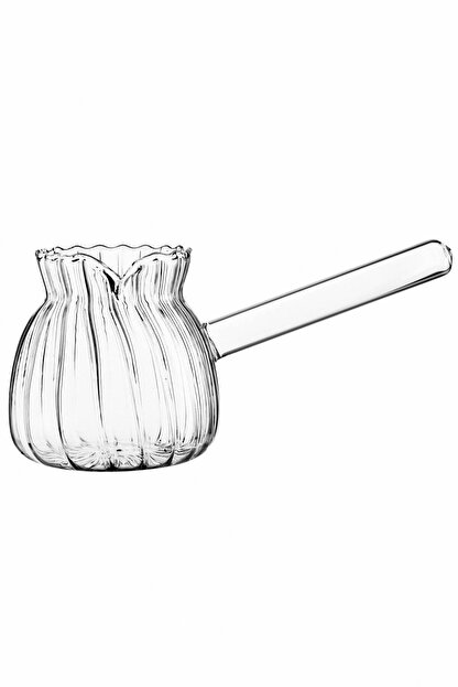 ESNAFDEDE Borasilikat Cam Lüx Cezve 450 ml