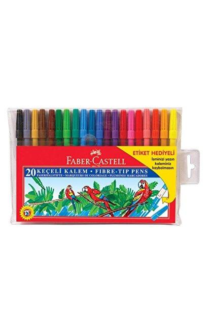 Faber Castell Faber 20 Renk Keçeli Kalem