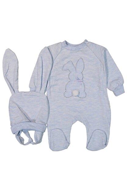 Murat Baby Tavşanlı Erkek Bebek Tulum Takım