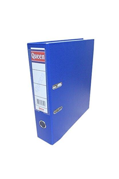 QueenKlasör Queen Klasör Geniş Çakmalı Mavi 15 Li Paket Ekonomik