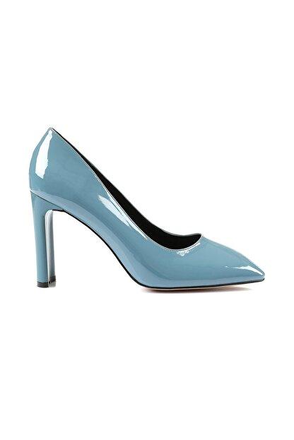 Oblavion Petra Indigo Mavi Topuklu Ayakkabı