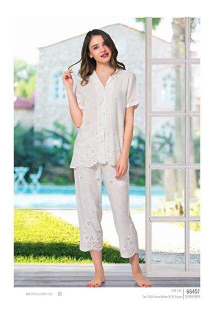 Nbb Dokuma Kadın Pijama Takımı 66457