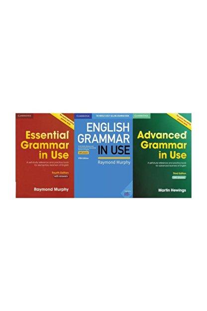 Cambridge University Press Grammar In Use 3'lü Set