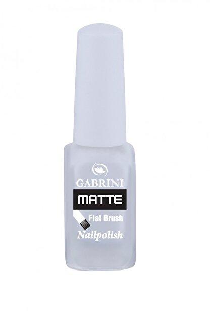 Gabrini 01 Gabrini - Matte Flat Brush Nailpolish (13 ml )