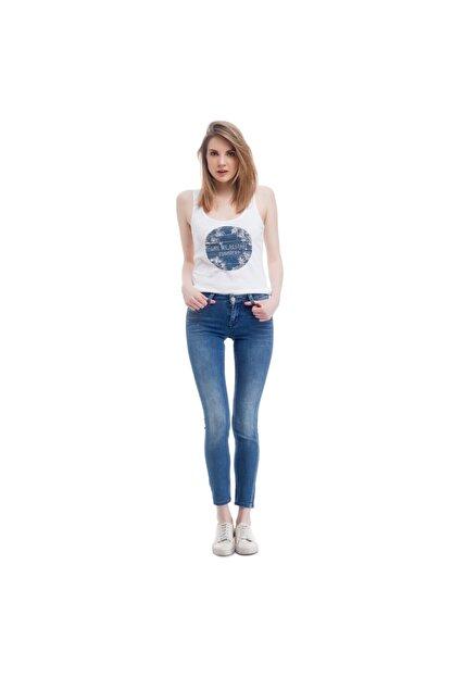 Mustang Jasmin Jeggins Kadın Jean Pantolon Açık Mavi