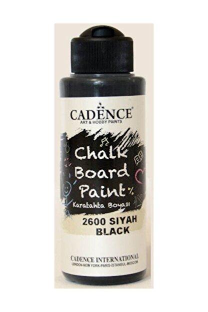 Cadence Boya Chalkboard Paint Karatahta Boyası 120 ml. 2600 Siyah