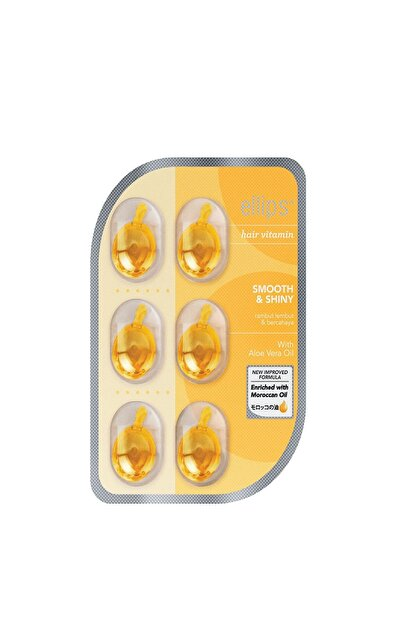 Ellips Saç Vitamini Yumuşak Ve Işıltılı Saçlar 6 Kapsül 8993417200014