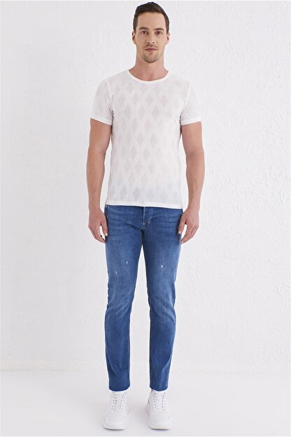 Efor 059 Slim Fit Mavi Jean Pantolon