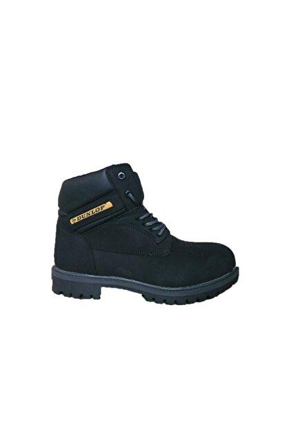 Dunlop 6230277 Siyah Nubuk Deri Erkek Bot