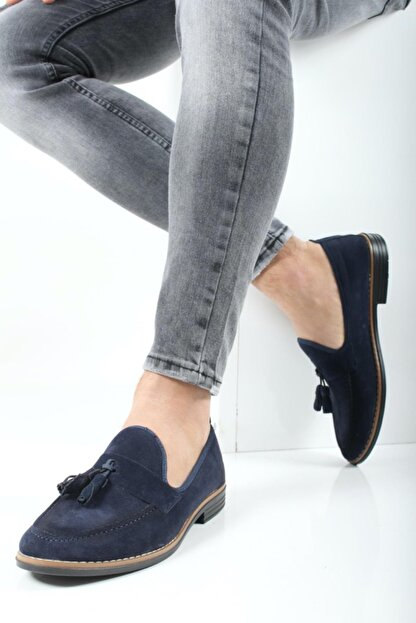 Oksit Hyman Püskülü Erkek Loafer Ayakkabı