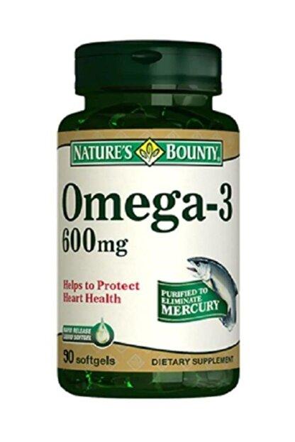 Natures Bounty Omega-3 600 Mg 90 Soft Jel