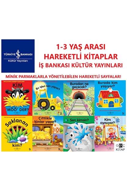İş Bankası Kültür Yayınları Iş Bankası Hareketli Kitaplar 8 Kitap Set 1-3 Yaş Minik Parmaklarla Yönetilebilen Hareketli Sayfalar