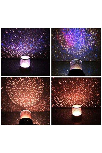 cartoonsshop Star Master Yıldızlı Gece Lambası Projeksiyon Tavan Işık Yansıtma Yeni Nesil Gece Lambası