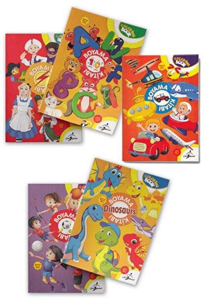 Çocuk Gezegeni Aktiviteli Boyama Kitapları Set 1 - 5 Kitap