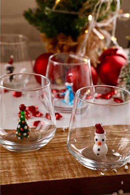 mozaikturk Yılbaşı Özel 6'lı Su Bardağı Seti